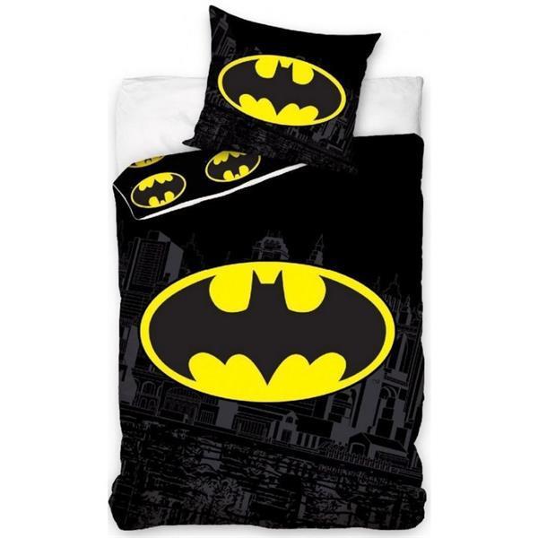 Grote foto batman dekbedovertrek 140 200 cm cape masker kinderen en baby complete kinderkamers