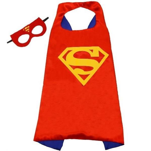 Grote foto superman dekbedovertrek 140 200 cm cape masker kinderen en baby complete kinderkamers