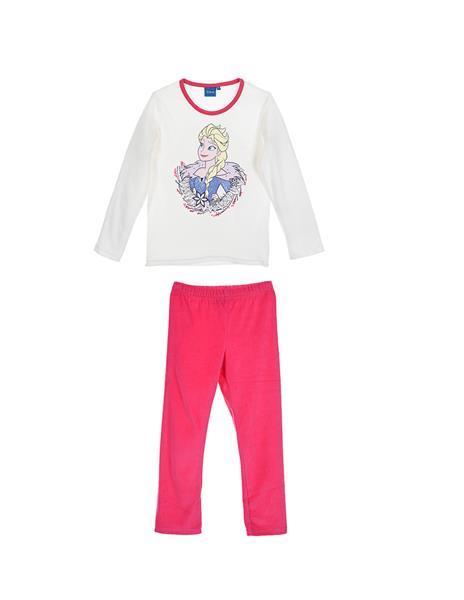 Grote foto frozen pyjama coral fleece off white kinderen en baby overige