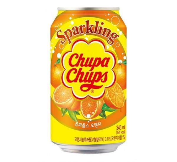 Grote foto chupa chups sparkling orange 345ml diversen overige diversen