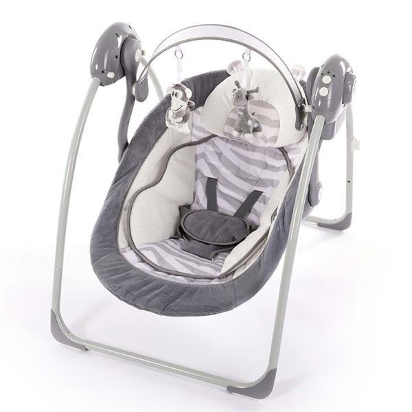 Grote foto bo jungle b portable babyschommel met verkleiner white tiger kinderen en baby babyspeelgoed
