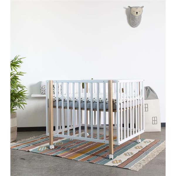 Grote foto childhome boxkleed 95x75 cm jersey luipaardprint kinderen en baby babyspeelgoed