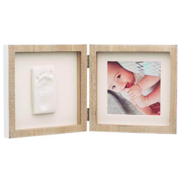 Grote foto baby art fotolijst vierkant hout kinderen en baby kraamcadeaus en geboorteborden