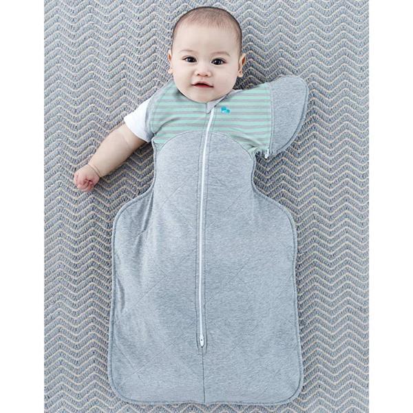 Grote foto love to dream babydoek swaddle up 50 50 warm fase 1 m grijs kinderen en baby overige