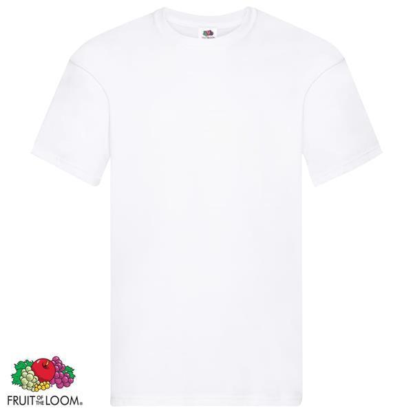 Grote foto fruit of the loom t shirts original 10 st 5xl katoen kleding heren overhemden