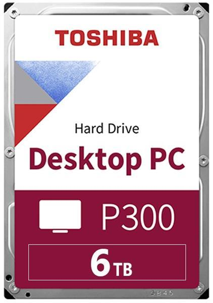 Grote foto toshiba p300 6tb hard disk 3.5 inch digital storage computers en software overige computers en software