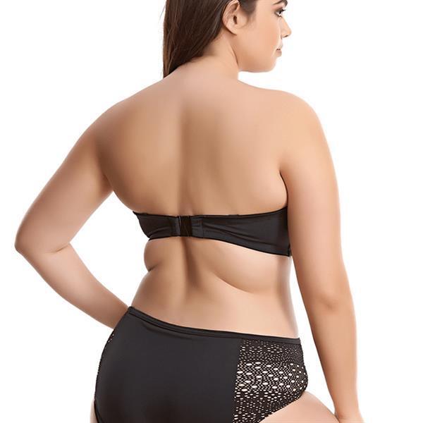 Grote foto essentials bandeau bikinitop 001 kleding dames ondergoed