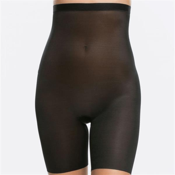 Grote foto skinny britches hoge taille short 001 kleding dames ondergoed