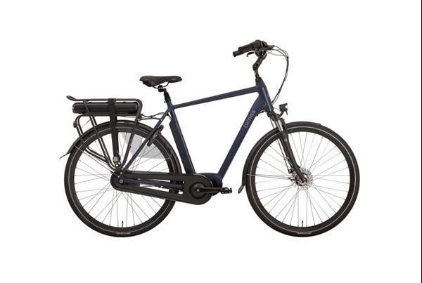 Grote foto bimas e city 7.3 elektrische herenfiets 7v blauw fietsen en brommers elektrische fietsen