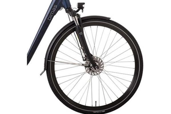Grote foto bimas e city 7.3 elektrische damesfiets 7v blauw fietsen en brommers elektrische fietsen