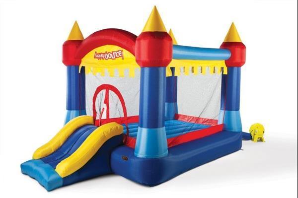Grote foto avyna springkussen castle adventure 2 in 1 kinderen en baby trampolines en springkussens
