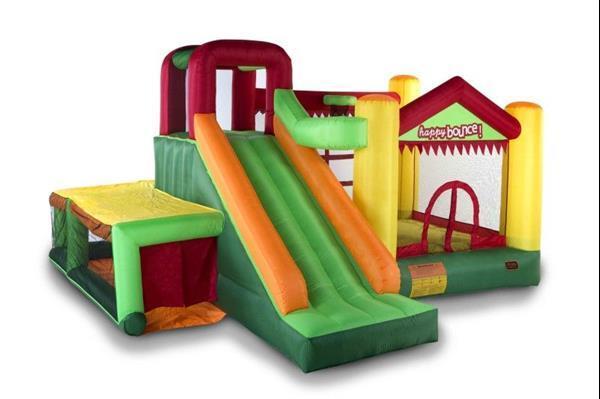 Grote foto avyna springkussen fun palace big 9 in 1 kinderen en baby trampolines en springkussens