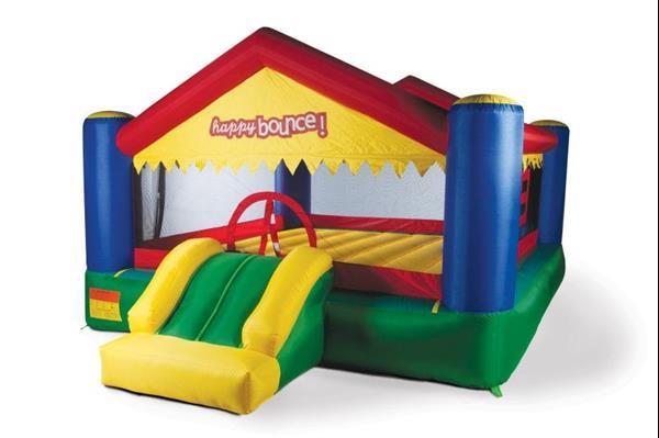 Grote foto avyna springkussen party house big kinderen en baby trampolines en springkussens