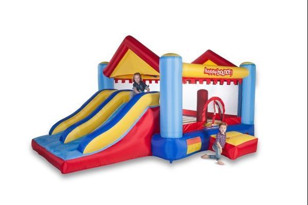 Grote foto avyna springkussen ultimate jump slider 3 in 1 kinderen en baby trampolines en springkussens