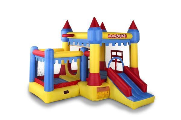 Grote foto avyna springkussen new castle 5 in 1 kinderen en baby trampolines en springkussens