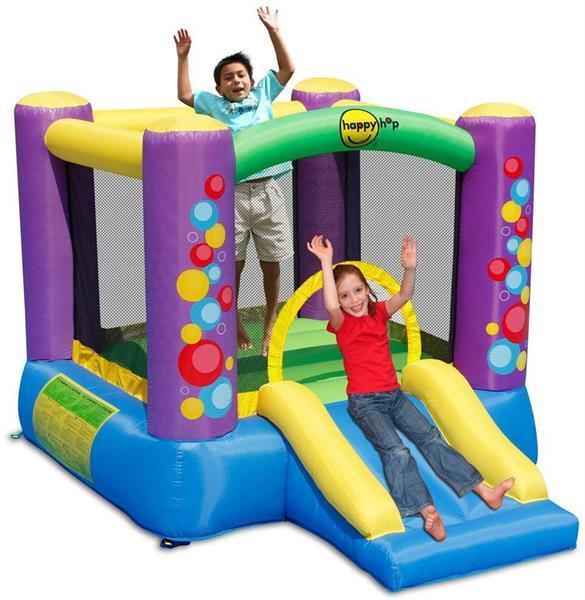 Grote foto happy hop bubble slide springkussen kinderen en baby trampolines en springkussens