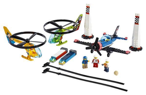 Grote foto lego city 60260 air race kinderen en baby duplo en lego