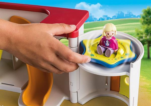 Grote foto playmobil 1.2.3 70399 mijn meeneem kinderdagverblijf kinderen en baby duplo en lego