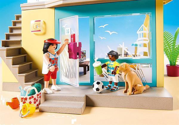Grote foto playmobil family fun 70434 playmo strandhotel kinderen en baby duplo en lego