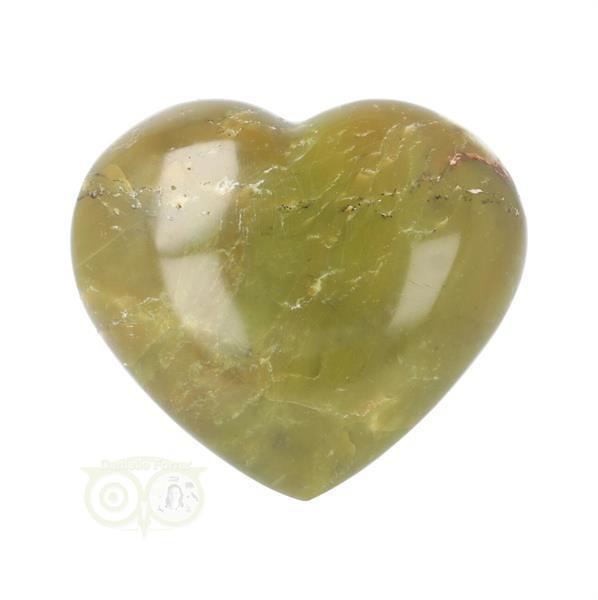 Grote foto groene opaal hart nr 5 verzamelen overige verzamelingen