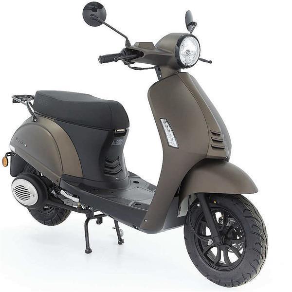 Grote foto dts verona e5 mat titanium bij central scooters kopen 1 fietsen en brommers scooters