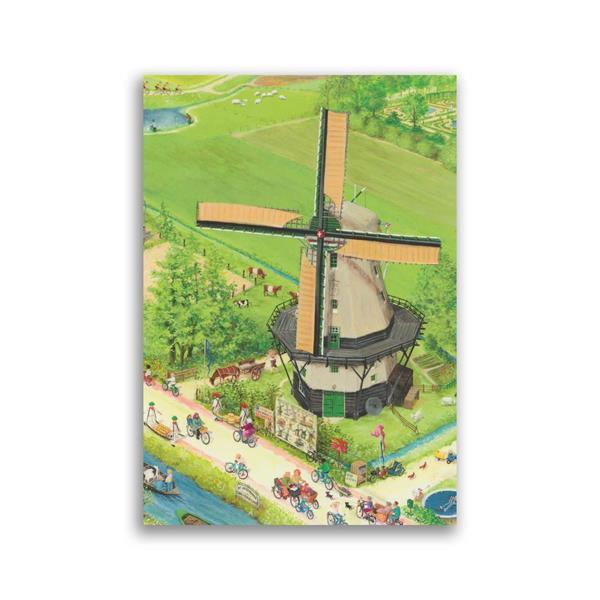 Grote foto molen charlotte dematons ansichtkaart verzamelen overige verzamelingen