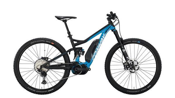 Grote foto conway ewme 629 e mtb full suspension blauw zwart fietsen en brommers elektrische fietsen