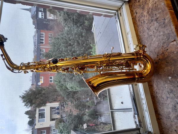 Grote foto altsaxofoon voor beginners muziek en instrumenten saxofoons