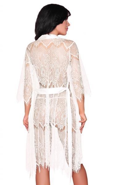 Grote foto kimono lace deirdre maat l xl kleding dames ondergoed