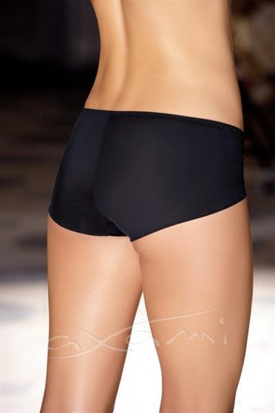 Grote foto zwart met zilverkleurige slip maat s kleding dames ondergoed
