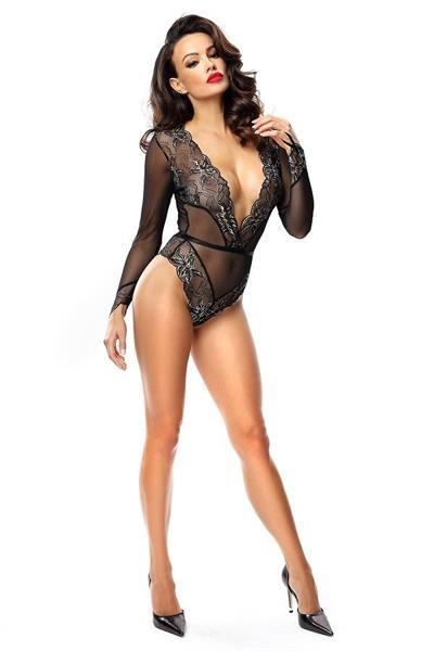Grote foto bodysuit rachel maat l kleding dames ondergoed