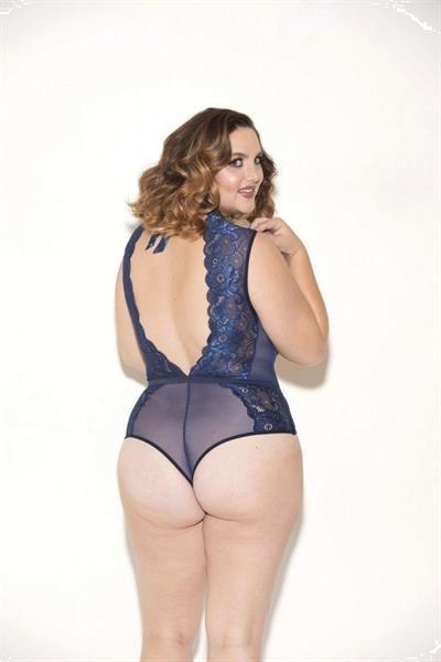 Grote foto teddy demi blauw maat xl kleding dames ondergoed