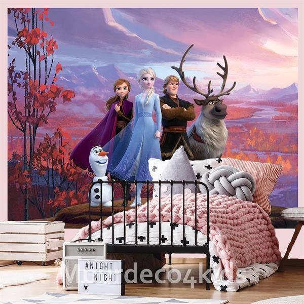 Grote foto disney frozen fotobehang l kinderen en baby inrichting en decoratie