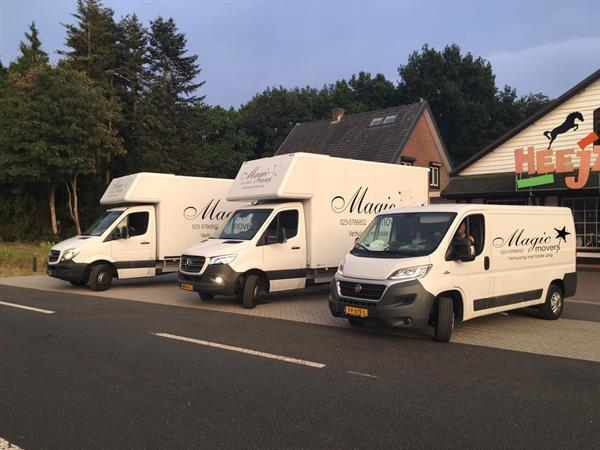 Grote foto magic movers uw specialist in transport diensten en vakmensen verhuizingen