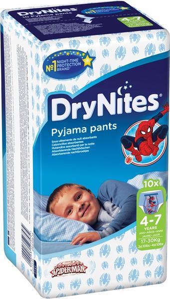 Grote foto drynites boy luierbroekjes 4 7 jaar 17 30kg kinderen en baby dekens en slaapzakjes