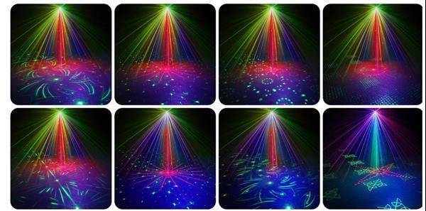 Grote foto laserlamp disco direct leverbaar muziek en instrumenten licht en laser
