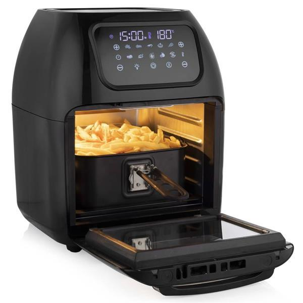 Grote foto tristar fryer oven multi crispy fr 6964 1800 w zwart witgoed en apparatuur kookplaten en gasstellen