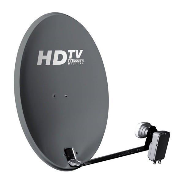 Grote foto tv vlaanderen startersset thuis telecommunicatie satellietontvangers