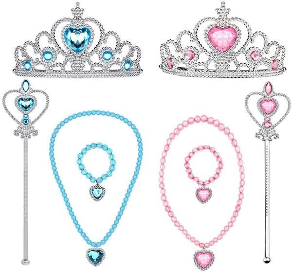 Grote foto prinsessen roze blauw accessoireset kinderen en baby overige