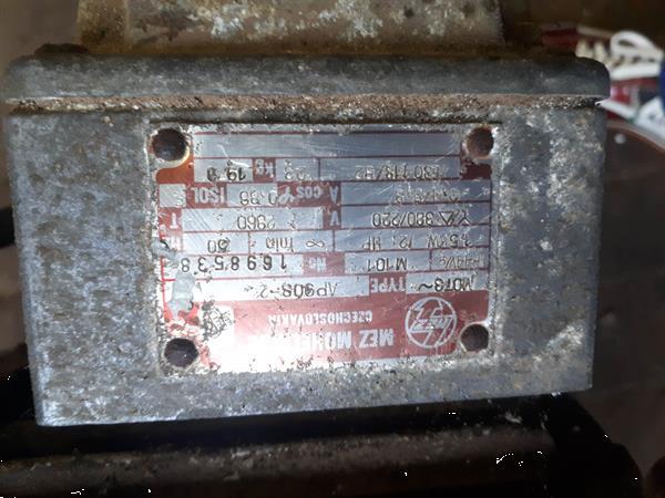 Grote foto robuuste electromotor 1 5 kw 2960t 19 kg. agrarisch onderdelen en accessoires