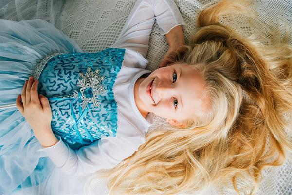Grote foto frozen elsa jurk sleep deluxe prinsessenjurk gratis kro kleding dames verkleedkleding