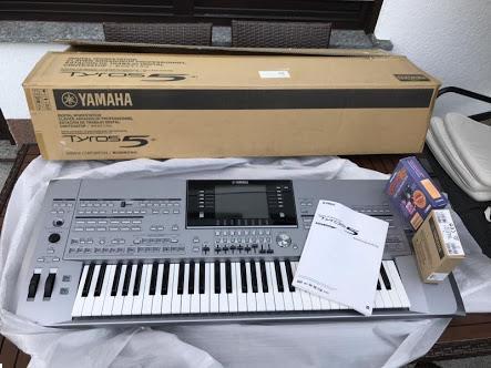 Grote foto yamaha tyros 5 keybaord 1000 te koop muziek en instrumenten keyboards