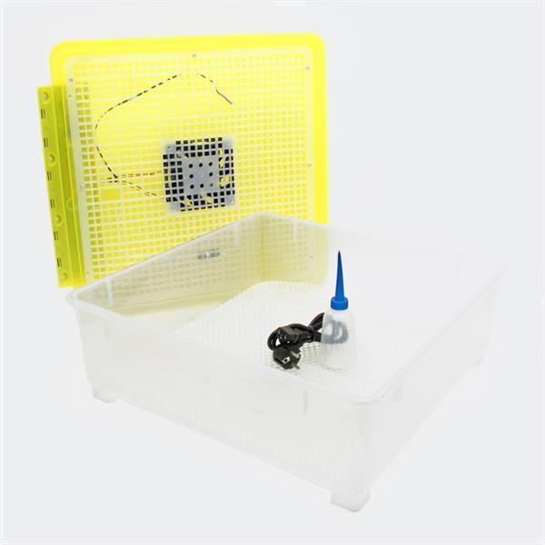 Grote foto broedmachine kweekmachine 48 eieren geel dieren en toebehoren vee en pluimvee accessoires