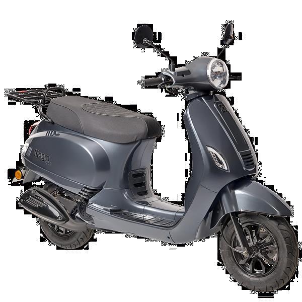 Grote foto agm vx50i e5 donker grijs bij central scooters kopen 16 fietsen en brommers scooters
