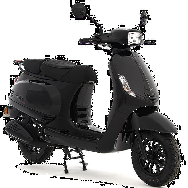 Grote foto agm vx50si zwart bij central scooters kopen 1748 00 of le fietsen en brommers scooters