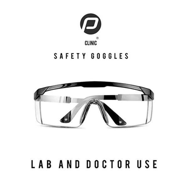 Grote foto luxe veiligheidsbril diversen verpleegmiddelen en hulpmiddelen