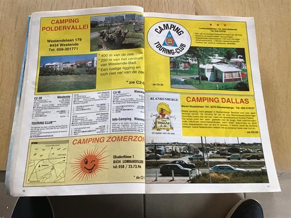 Grote foto boek campingplaatsen gids 7000 plaatsen caravans en kamperen overige caravans en kamperen