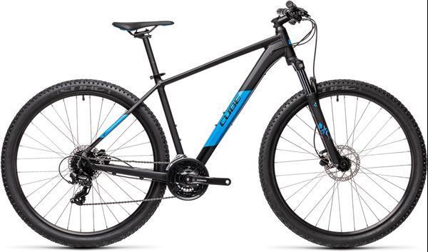 Grote foto cube aim pro mtb 27.5 inch blauw zwart 24v fietsen en brommers mountainbikes en atb