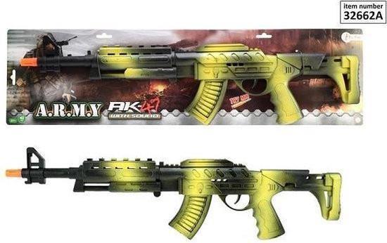 Grote foto toi toys ak47 geweer zwart groen kinderen en baby overige