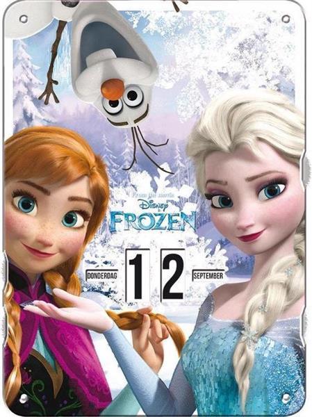 Grote foto frozen frozen draaidoor kalender elsa anna ophangbaar kinderen en baby overige